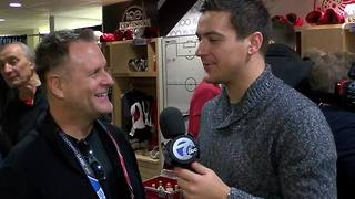 Dave Coulier: from 'Full House' Red Wings fan to coaching the alumni outdoors - Video