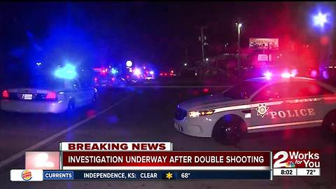 Double shooting outside a Tulsa strip club