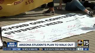 Arizona students plan to walk out - Video