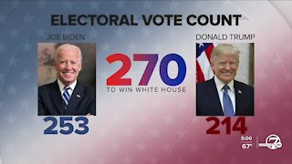 Biden continues to increase leads in Pennsylvania, Georgia and Nevada as counting continues Friday evening