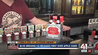City Market Cider: The story behind Boulevard Brewing's first cider - Video