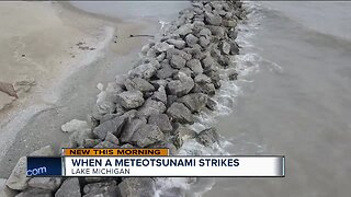 Meteotsunami could cause deadly drownings in Lake Michigan