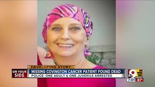 Missing Covington woman found dead - Video