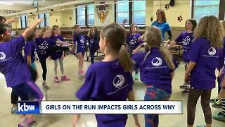 Girls on the Run impacts girls across WNY - Video