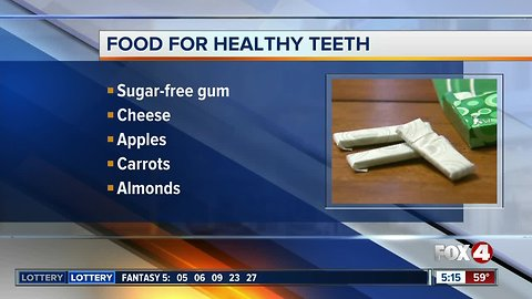 Foods to eat for healthy teeth