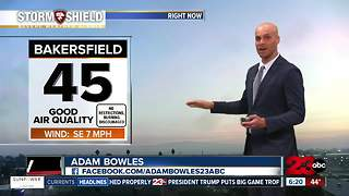 Fog advisory for Sunday morning; with a big warm up for Thanksgiving! - Video