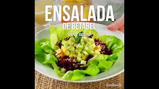 Beet Salad with Easy Dressing