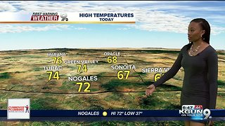 Tuesday forecast: Rain showers expected later this week - Video