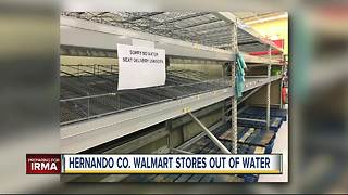 Florida residents stock up on supplies as Hurricane Irma strengthens - Video