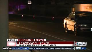 Child hit by car in Henderson expected to survive - Video