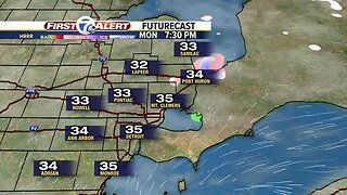 Freezing drizzle possible again