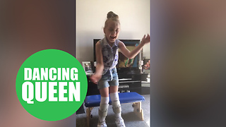 Little girl defied doctors' expectations by dancing for the first time in her life