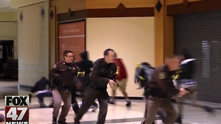 Being trained, prepared in event of attack - Video