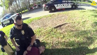 Police body camera video released just after Parkland shooter Nikolas Cruz's arrest