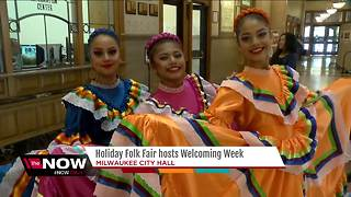 Holiday Folk Fair hosts Welcoming Week - Video
