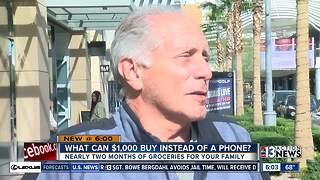Las Vegas shoppers drop $1,000 on newest iPhone - Video