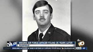 Missing Air Force officer found 35 years later - Video