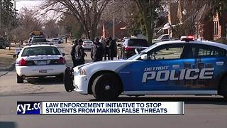 Law enforcement announces crackdown on fake threats of school violence - Video