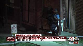 Man shot multiple times at apartment on Wyoming Street - Video