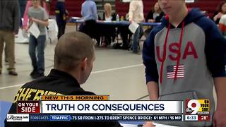 Program teaches middle schoolers the consequences of drugs - Video