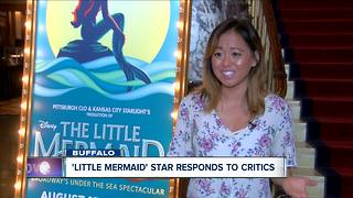 'Little Mermaid' star talks overcoming adversity - Video
