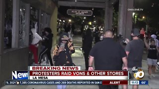 La Mesa stores looted after anti-police violence protest