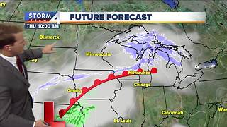 Brian Niznansky Tuesday noon Storm Team 4cast - Video