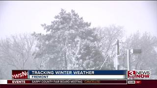 Fremont deals with blizzard-like conditions - Video