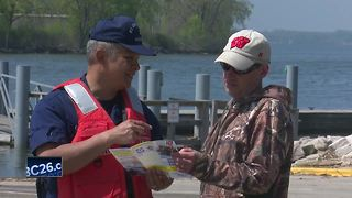 Coast Guard holds safe boating week open house - Video