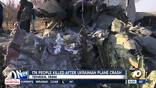 176 people killed after Ukrainian plane crash