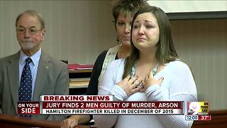Hamilton firefighter Patrick Wolterman's widow asks for maximum sentence for husband's murder - Video