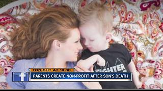 Treasure Valley parents create non-profit to help others after young son's death - Video