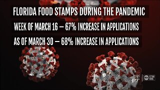 Florida food stamps applications spike during pandemic