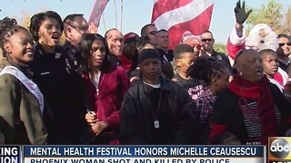 Mental Health Festival honors Michelle Ceausescu - Video