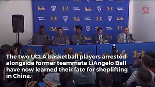 Shoplifting UCLA Players Learn Their Fate