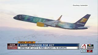 Icelandair coming to KCI in May 2018 - Video