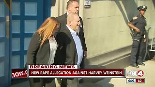 Harvey Weinstein facing new rape allegations - Video