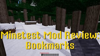 Minetest Mod Review: Bookmarks