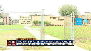 Polk parents worried about future of special needs school - Video