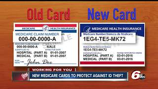 New Medicare cards supposed to help protect you from ID theft - Video