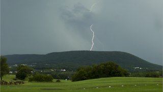 Thunderstorms Strike U.S. East Coast