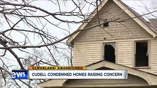 Cuddell condemned homes raising concern - Video