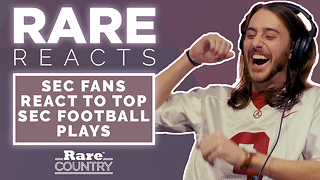 SEC Fans React to Top SEC Football Plays | Rare Reacts - Video