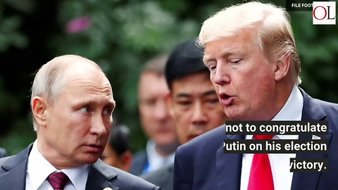 Trump Furious Over Leak Of Warning Not To Congratulate Putin
