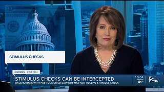 Oklahomans With Past Due Child Support May Not Receive Stimulus Check
