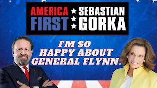 I'm so happy about General Flynn. K.T. McFarland with Sebastian Gorka on AMERICA First