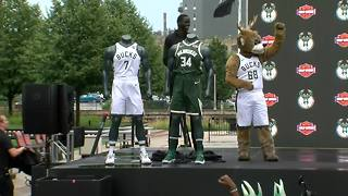 Bucks announce partnership with Harley-Davidson - Video