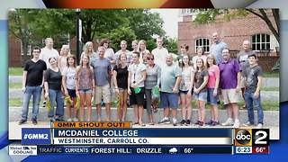 McDaniel College gives a shout out after celebrating 150 years