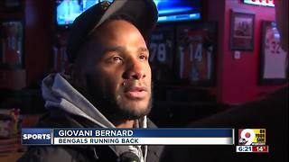 Bengals running back Giovani Bernard comments on rehiring of coach Marvin Lewis