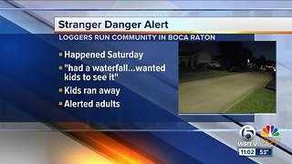 Stranger danger alert in Boca Raton - Video